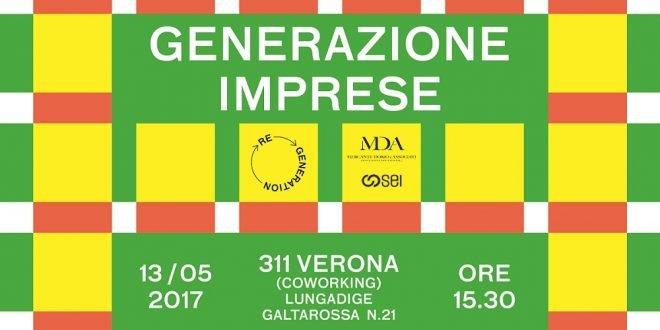Giovani: fare impresa a Verona e farla bene. Questo il tema che ReGeneration, sabato 13 maggio, proverà a tracciare con uno sguardo al panorama delle PMI innovative scaligere. L'incontro inizierà alle 15.30 e si terrà presso il coworking 311 (Lungadige Galtarossa 31).