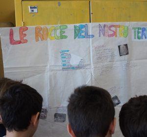 Bambini durante il progetto scientifico a scuola