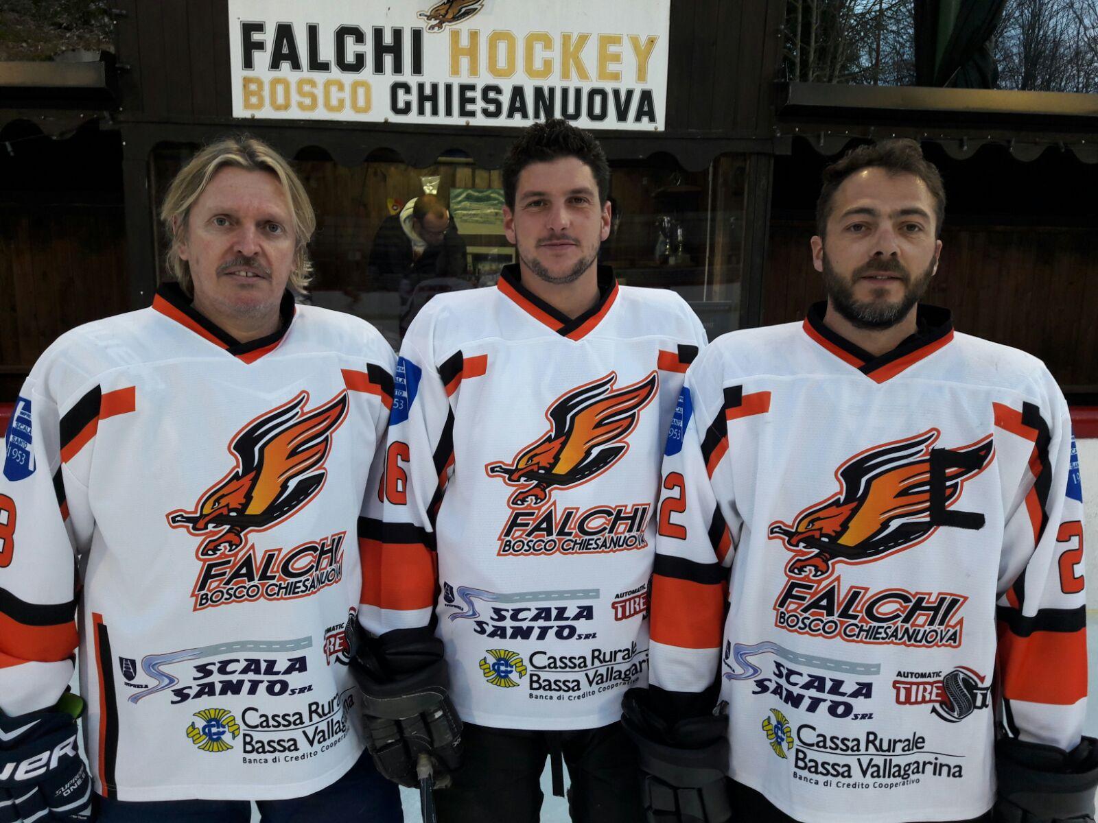 Michele Tupini, capitano di hockey su ghiaccio
