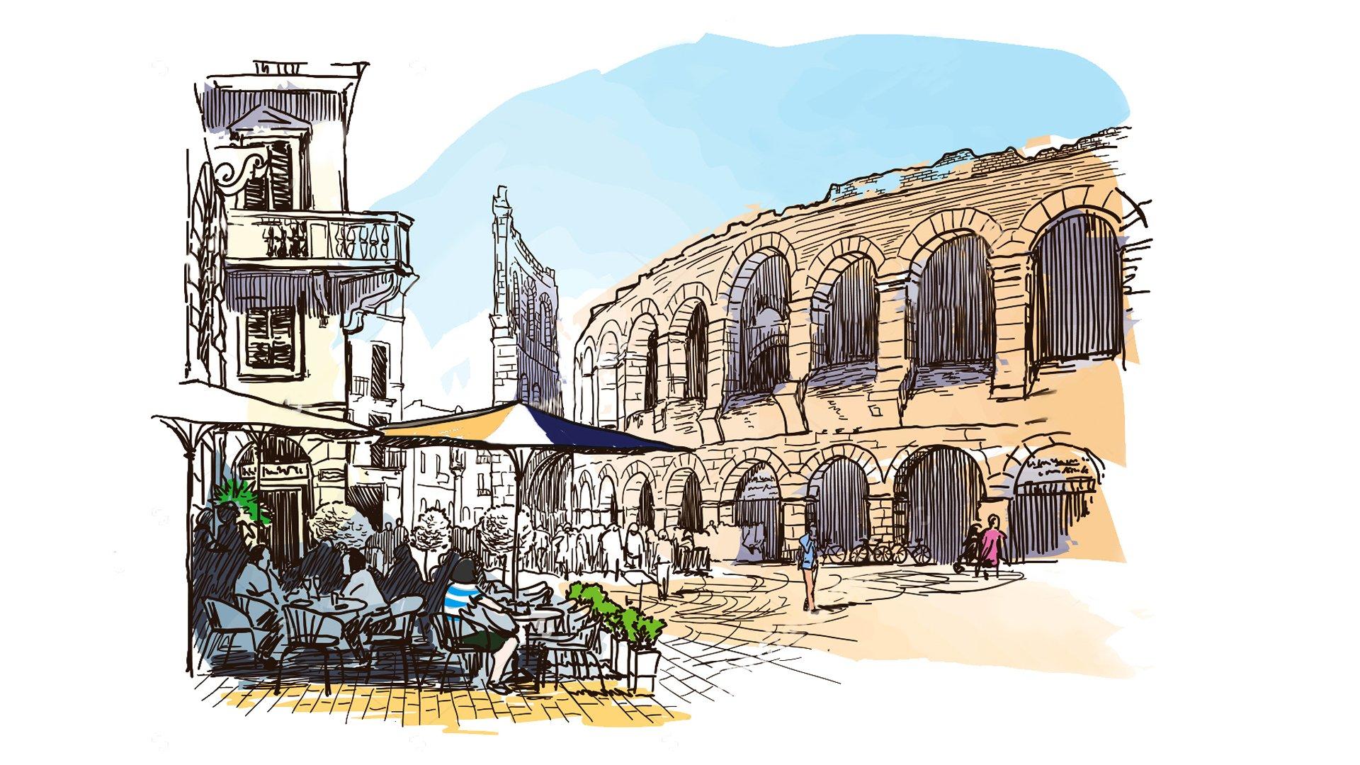 Liste a supporto dei candidati sindaco di Verona