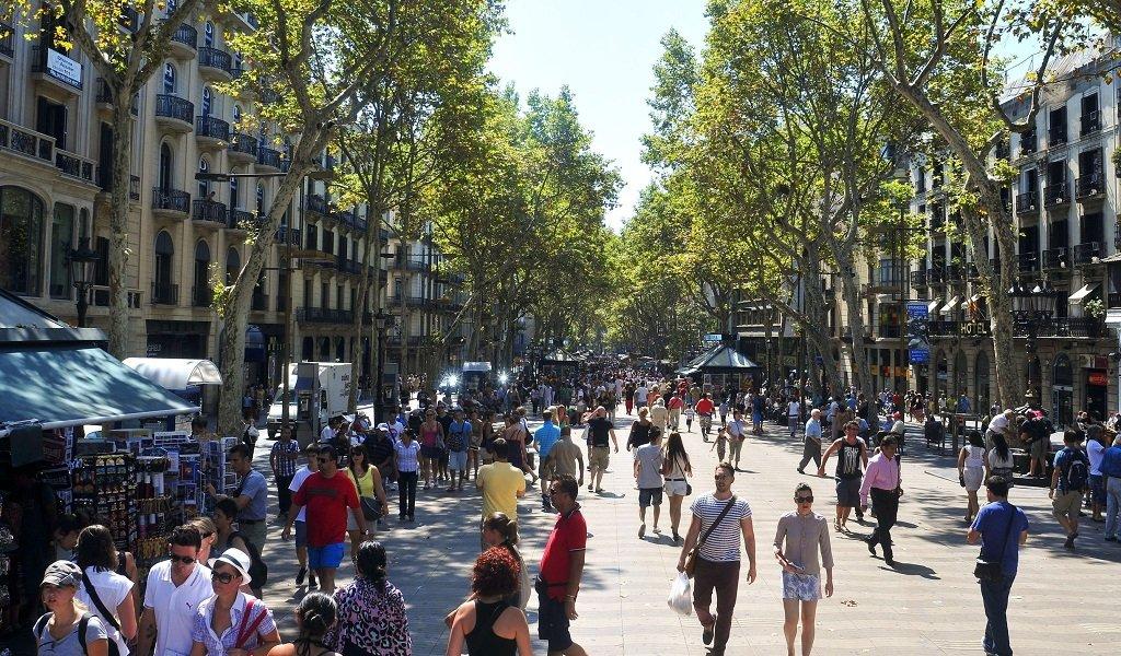 La-Rambla-in-Barcelona-Spain