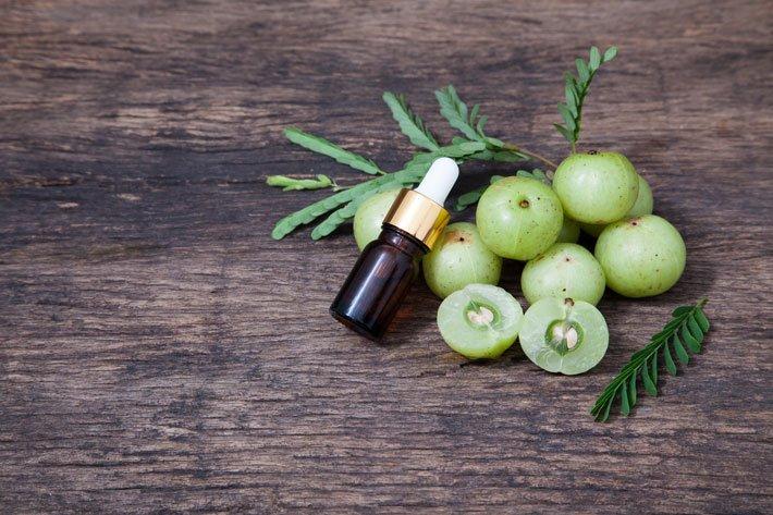 Amla o uva spina indiana