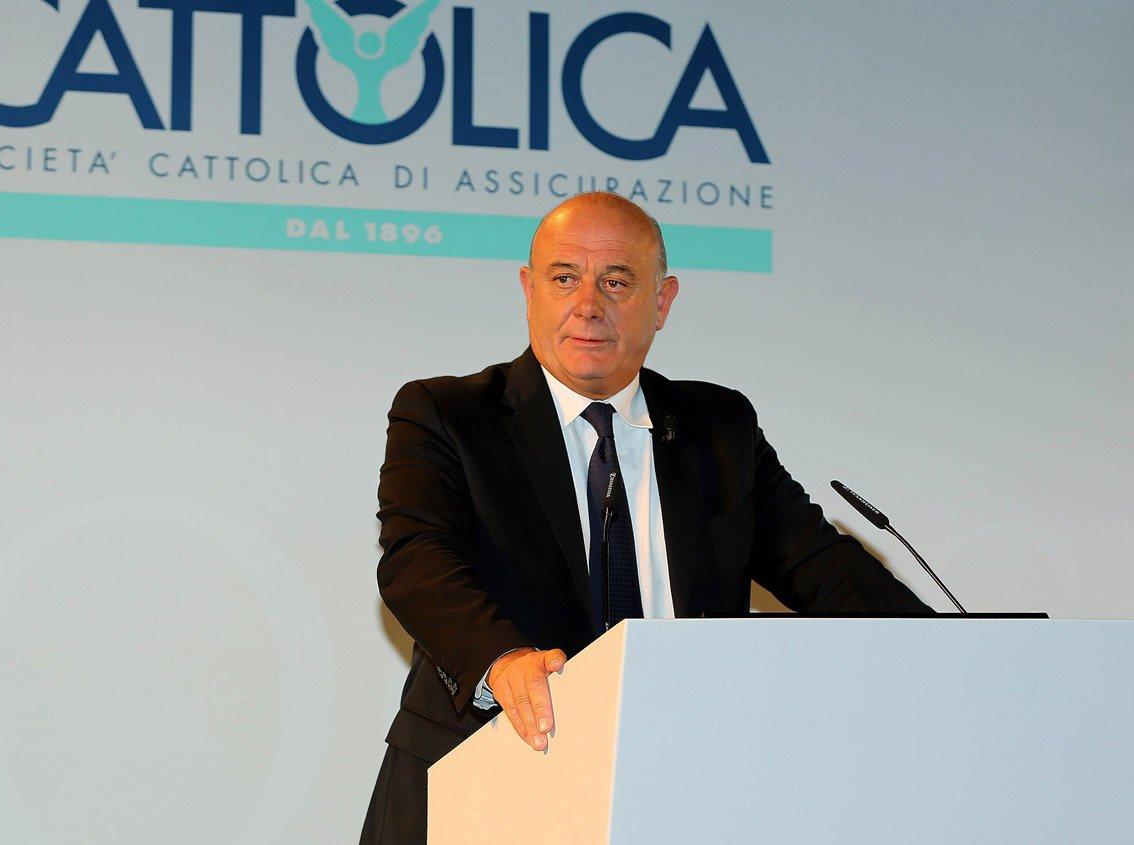 Paolo Bedoni, presidente Cattolica Assicurazioni