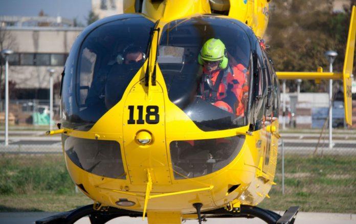 incidente elicottero baldo parapendio