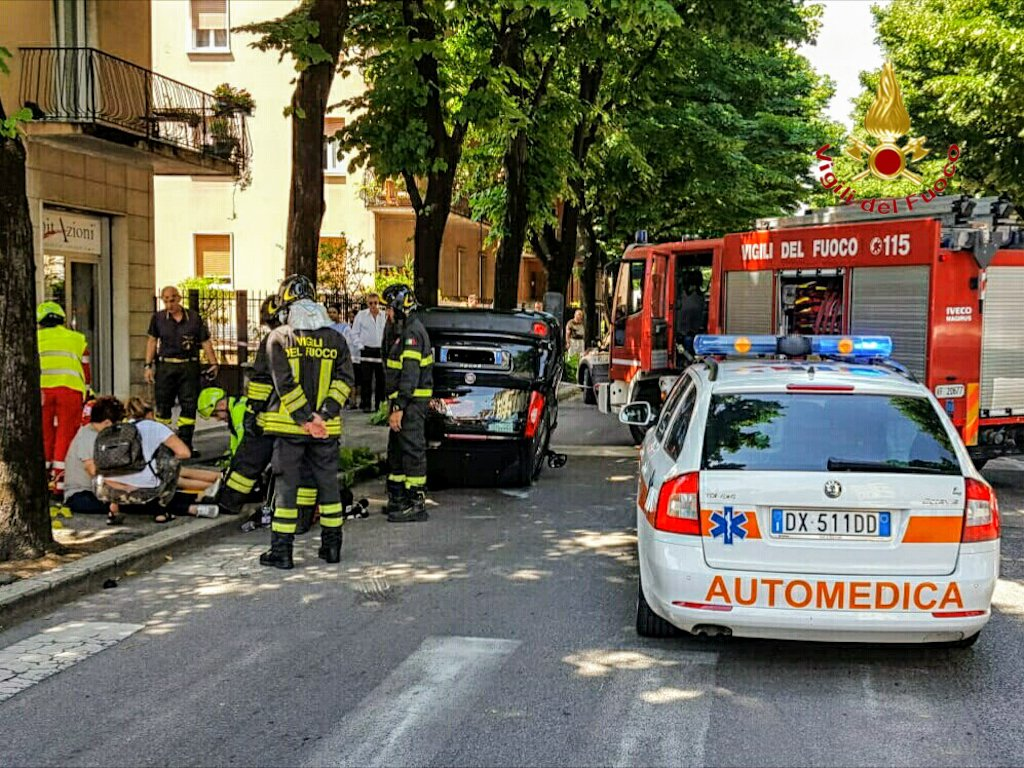 incidenti Verona