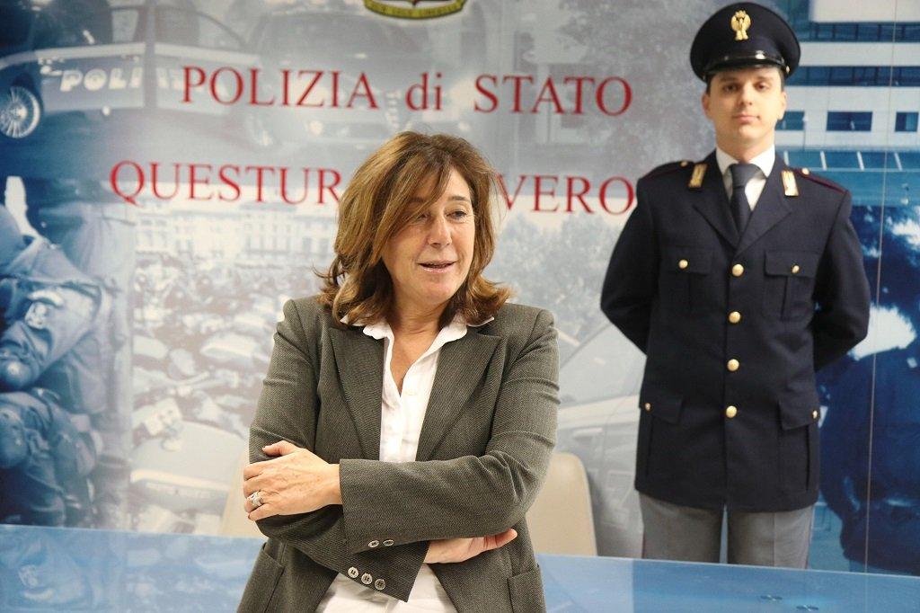 Ivana Petricca, Questore di Verona