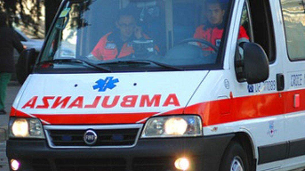 ambulanza ferito