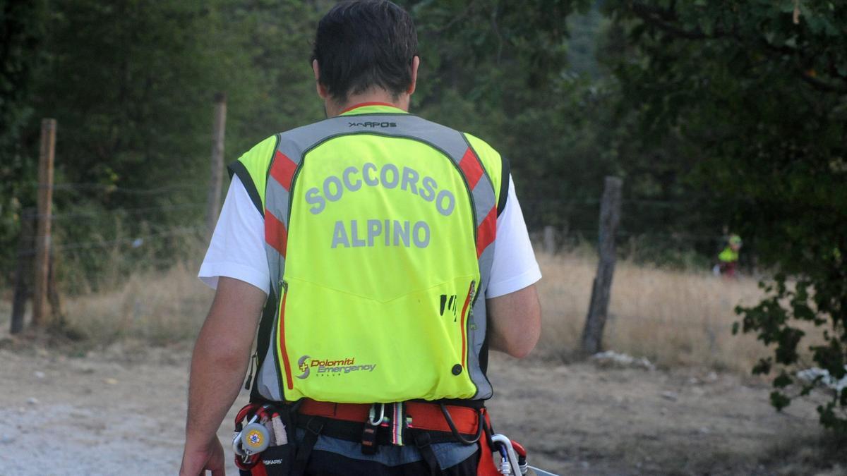 attività in montagna valsorda soccorso alpino giovane disperso
