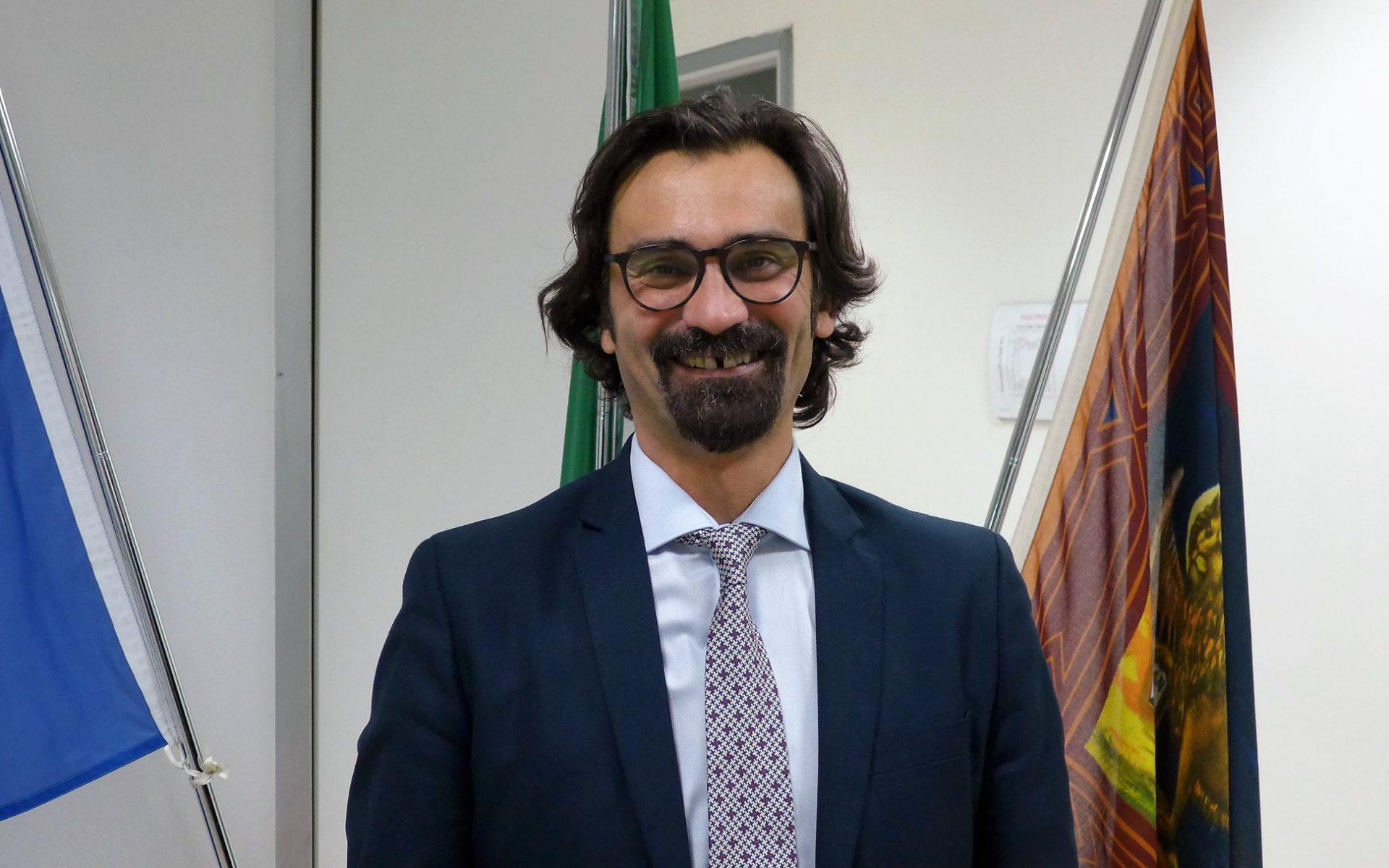 Il presidente della Provincia di Verona Manuel Scalzotto.