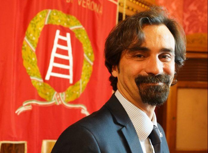 Manuel Scalzotto, presidente della Provincia di Verona