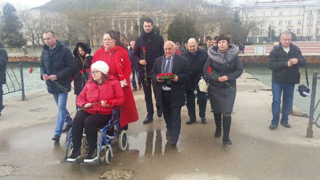 Comencini ha incontrato la comunità italiana in Crimea