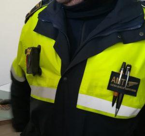 Amt bodycam telecamere sulla divisa accertatori