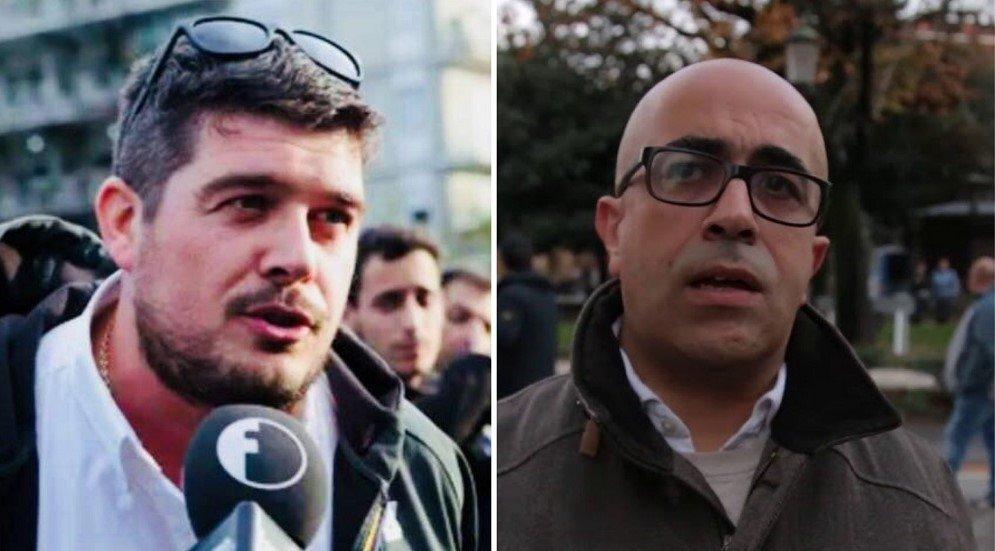 Luca Castellini e Pietro Amedeo Forza Nuova