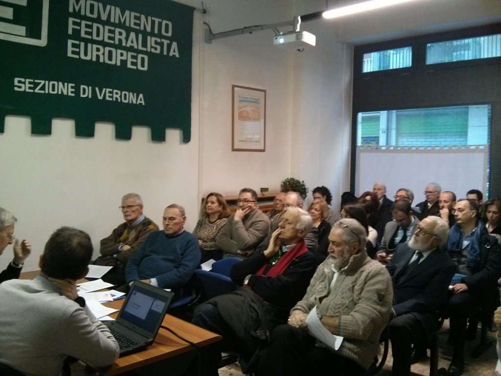 Movimento federalista europeo verona assemblea