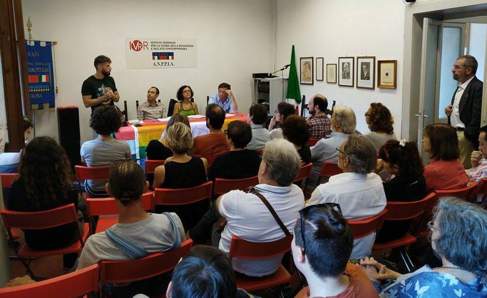 Sede Anpi Verona assemblea