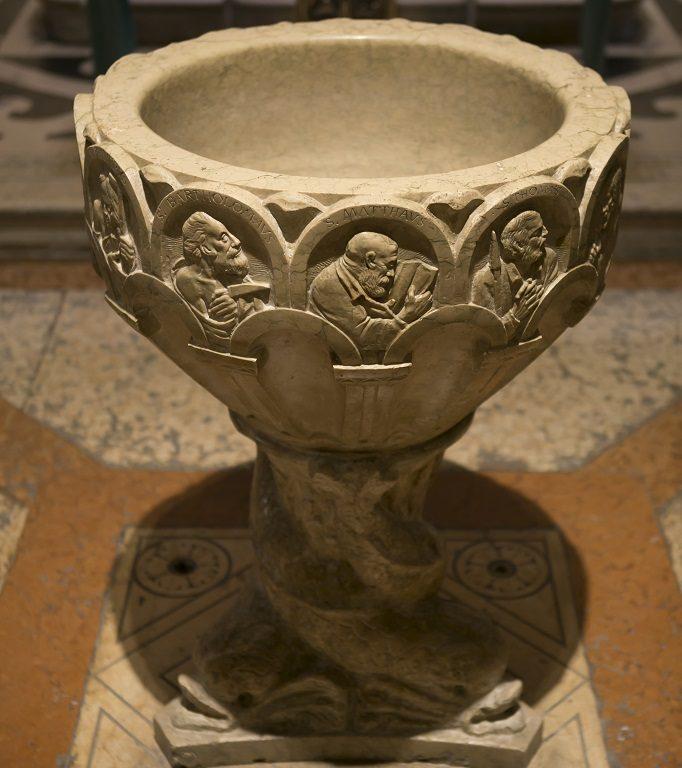 fonte battesimale di SS. Teuteria e Tosca Verona Minor Hierusalem