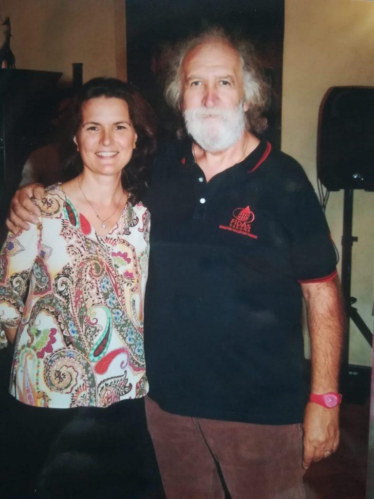 La presidente Fidas Chiara Donadelli con Graziano Sasso, 253 donazioni