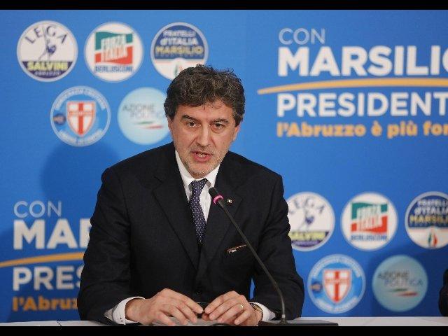 Marco Marsilio elezioni Abruzzo