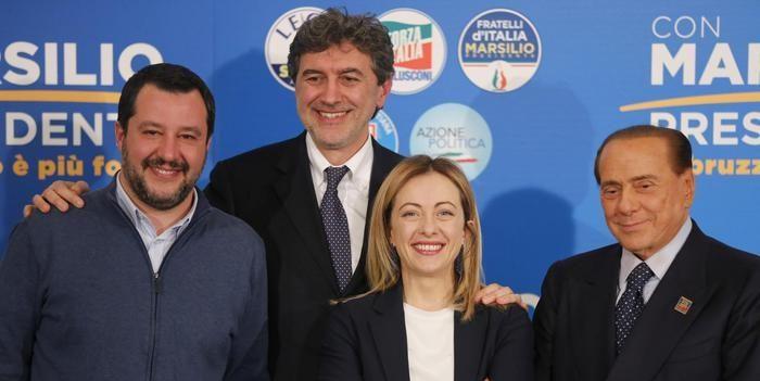 Abruzzo elezioni Marco Marsilio