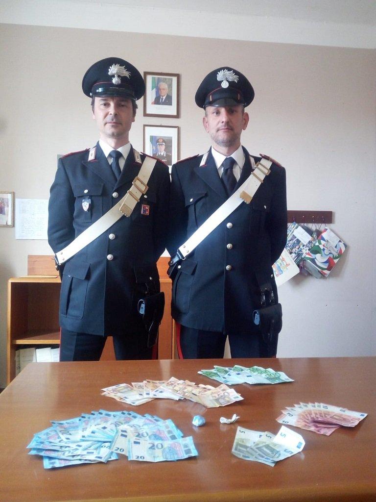 Carabinieri Pastrengo arrestato spacciatore