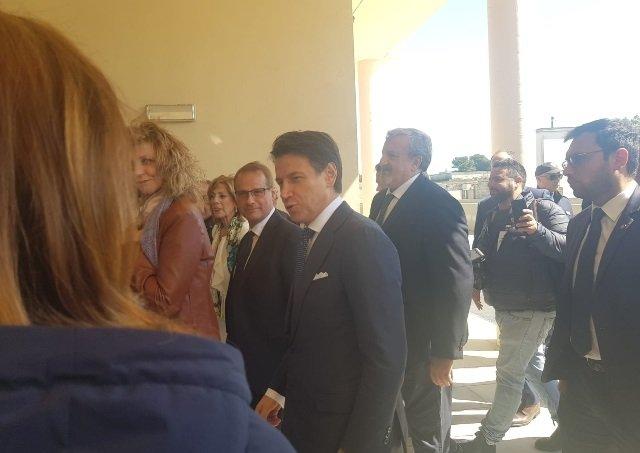 Giuseppe Conte a Lecce xylella