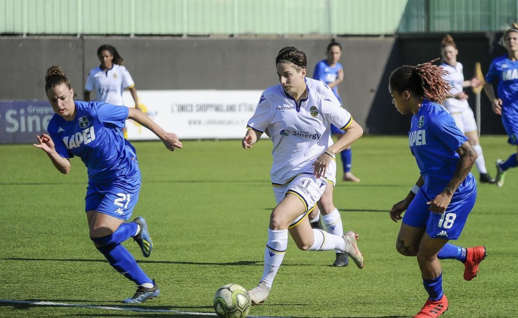 Hellas Verona Women Foto Mirko Barbieri - BPE da pagina Facebook Hellas Verona Women Calcio femminile