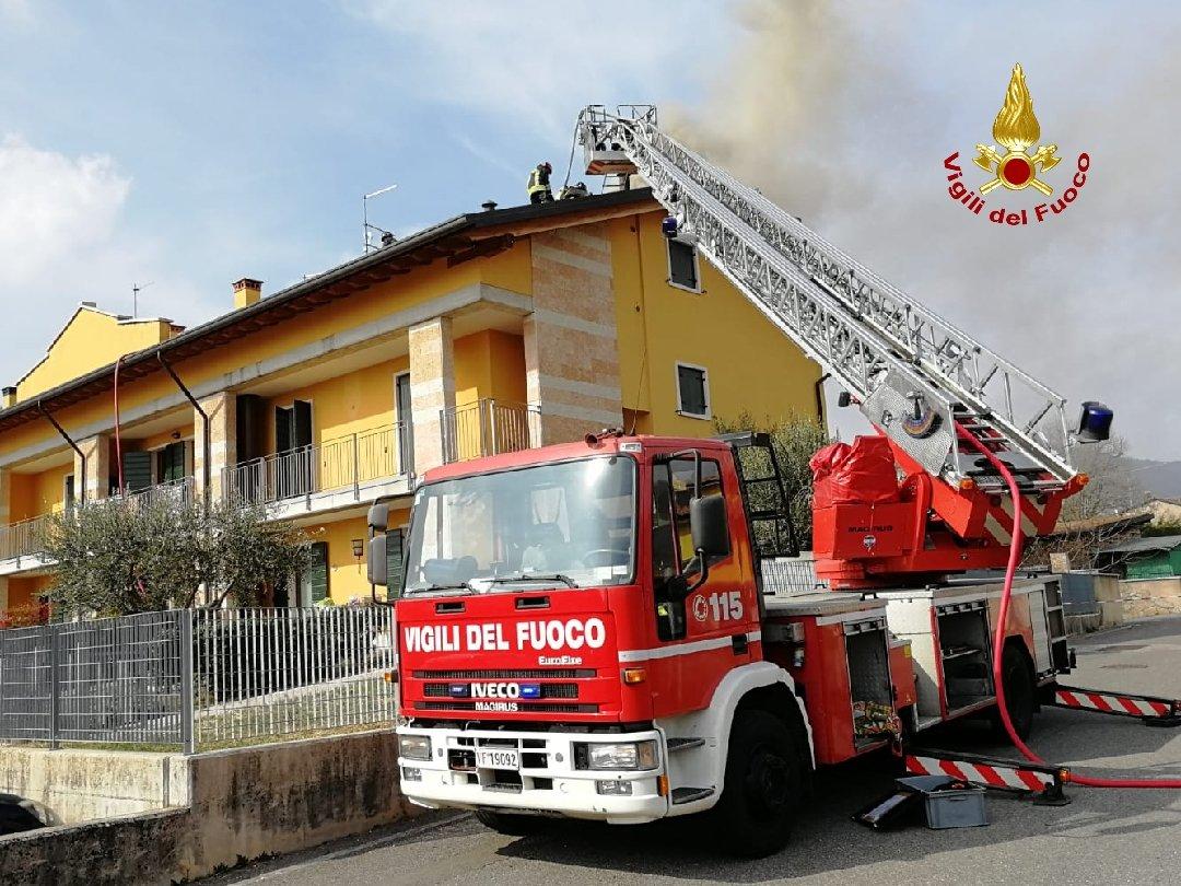 Incendio Badia