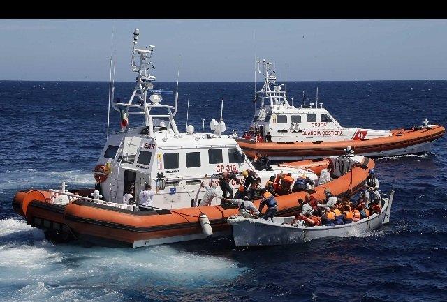 Libia motovedette