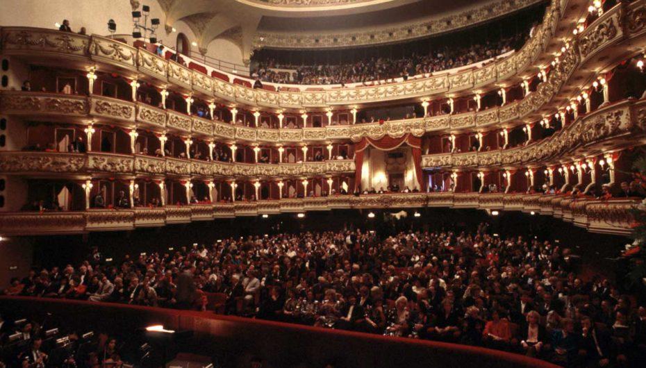 Il Teatro Filarmonico dove si terrà il concerto organizzato da Gaspari Foundation.