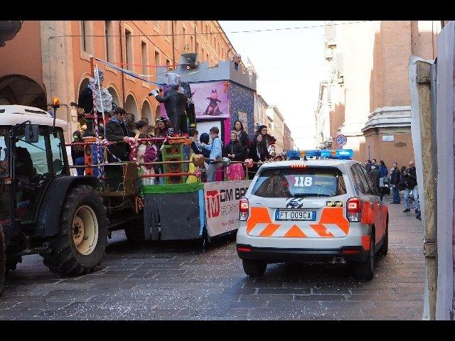 carro carnevale bologna