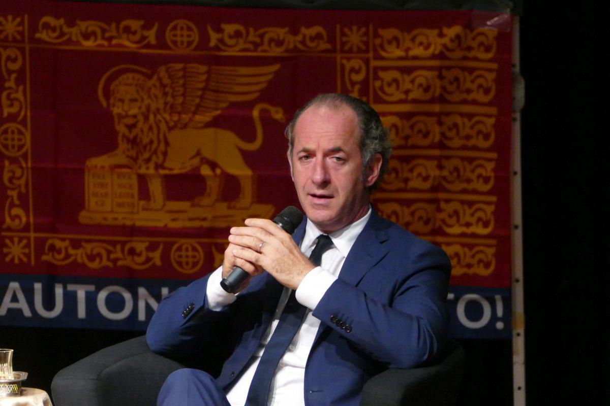 Luca Zaia bilancio regionale