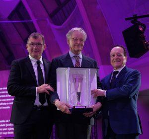 Giovanni Geddes da Filicaja di Ornellaia premio internazionale vinitaly 2019