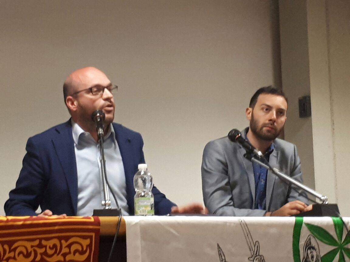 Lorenzo Fontana e Nicolò Zavarise