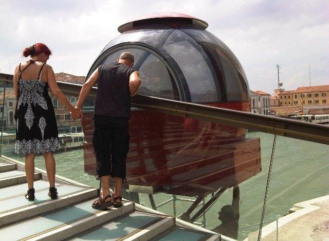 Ovovia Ponte di Calatrava Venezia