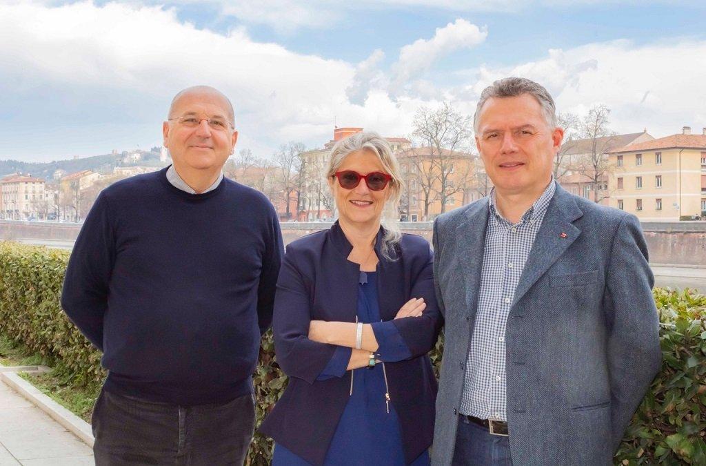 Primo maggio sindacati Castellani, Perina, Facci