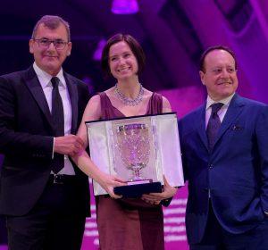 Madeline Puckette premio internazionale vinitaly 2019