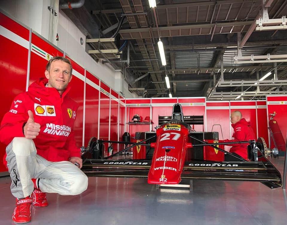 Ronnie Quintarelli Ferrari Mansell