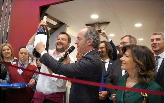 Vinitaly inaugurazione stand Veneto
