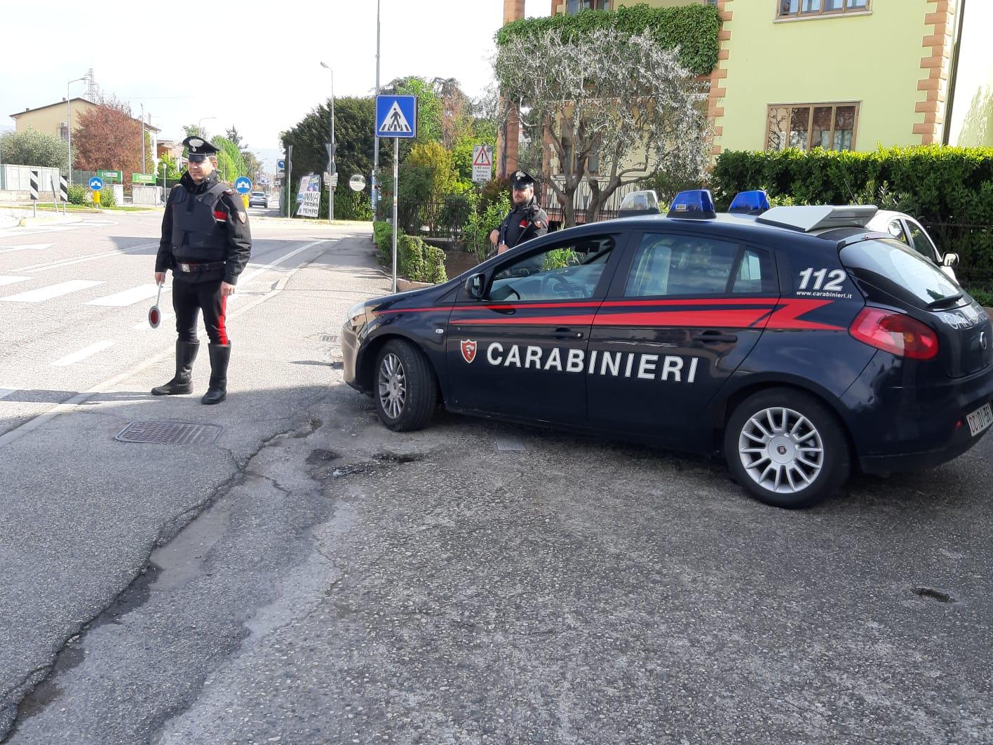 carabinieri arrestato a soave