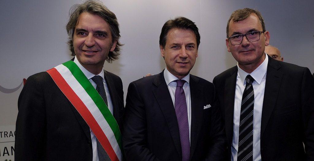 Giuseppe Conte al Vinitaly