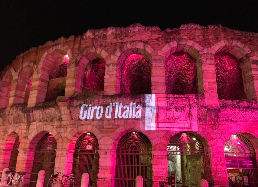 Giro d'Italia 2019 arena rosa