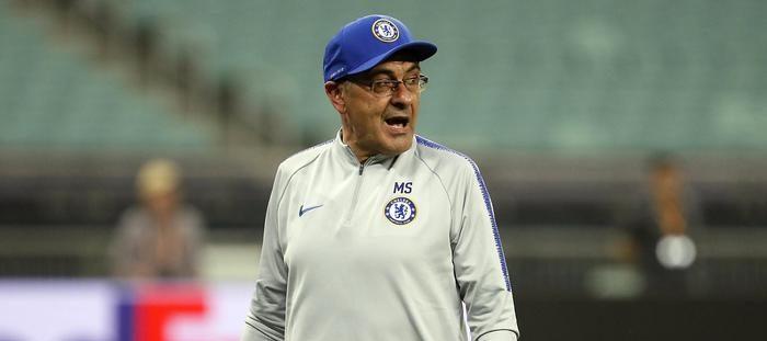 Maurizio Sarri Chelsea finale di Europa League