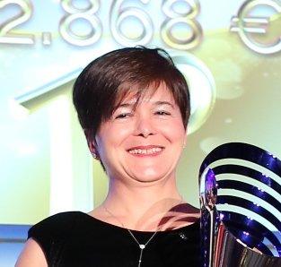 Daniela Corradi premio AVEDISCO
