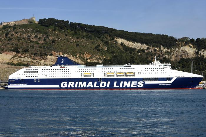 grimaldi nave ecologica