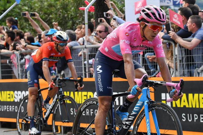 Giro d'Italia Nibali Carapaz
