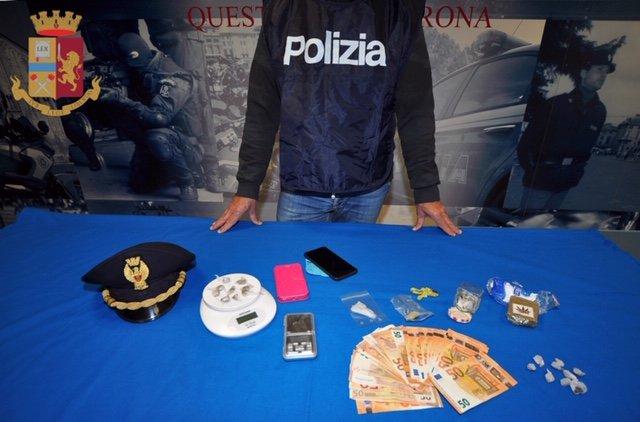 Questura Squadra Mobile - Droga hashish, eroina, mdma polizia