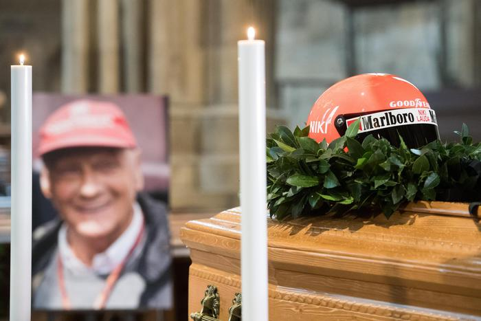 Funerale Niki Lauda
