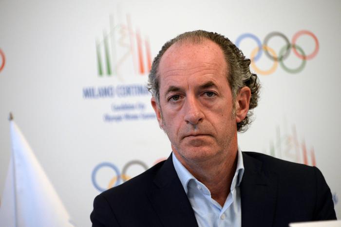 olimpiadi 2026 Luca Zaia
