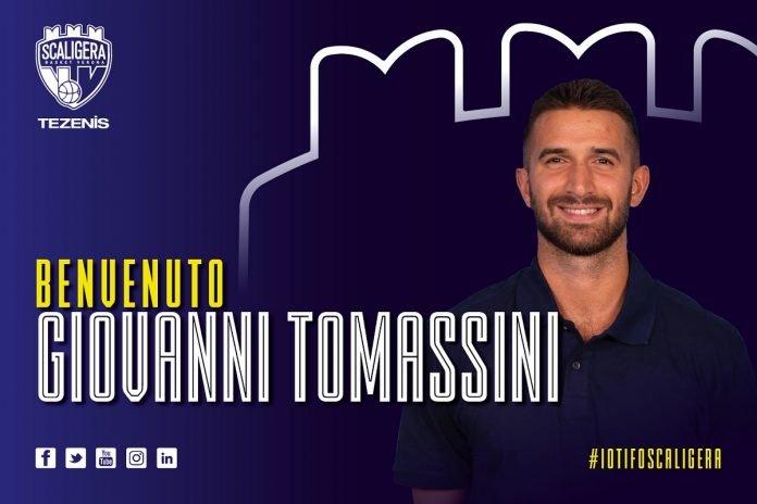 Giovanni Tomassini Scaligera Basket Verona Tezenis