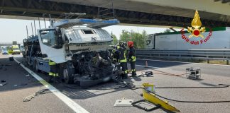 due incidente in a4, un morto